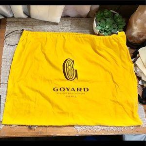 Goyard • XL Dust Bag w/ Authentication Card  EUC